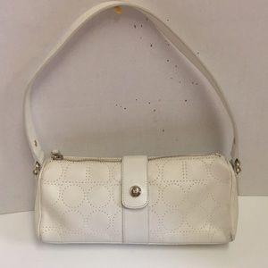 Kate spade vintage perforated leather baguette